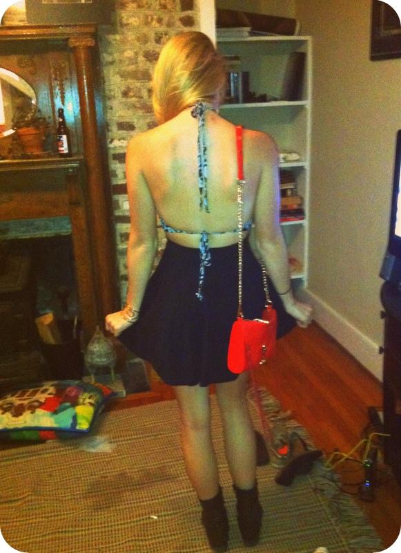 #backless #openback #halter #rebeccaminkoff