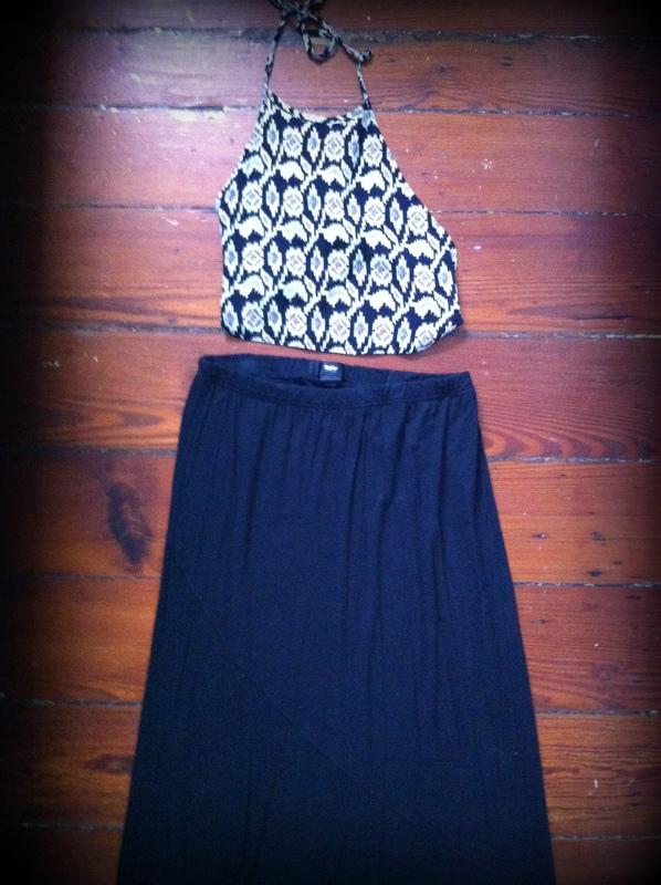 #halter #top #maxiskirt #mossimo #target