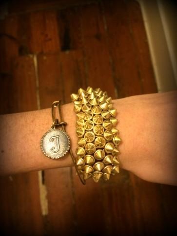 #studded #bracelet #urbanoutfitters #alexandani