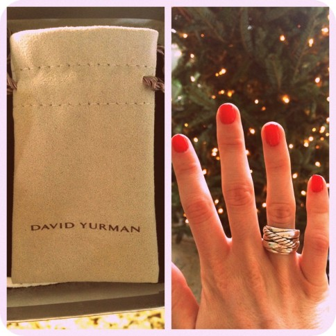 #davidyurman #silver #ring #christmas